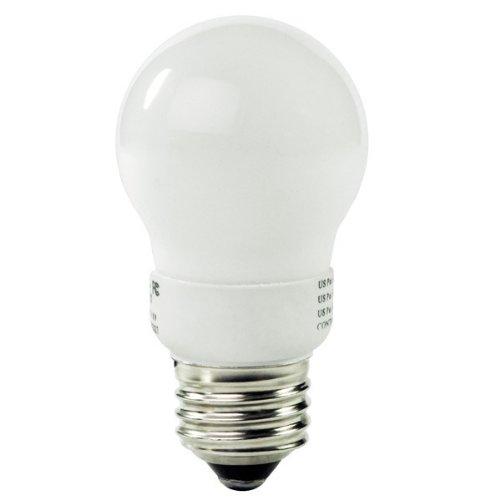 Litetronics MicroBrite MB-401 - 4 Watt CFL Light Bulb - Compact Fluorescent - Dimmable C - 25 W Equal - Warm White - Min. Start Temp. - 20 Deg. 25000 Life Hours