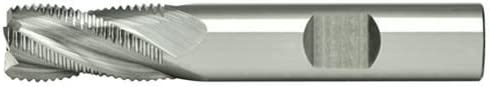Alfa Tools SCREM60904 1//2 4 Flute Fine Carbide Roughng End Mill Made In USA,