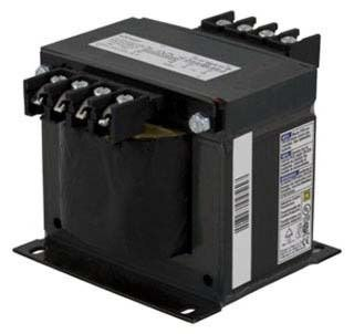 9070T500D1 230 x 460/240 x 480/220 x 440V Primary 110/115/120V Secondary 500VA Industrial Control Transformer