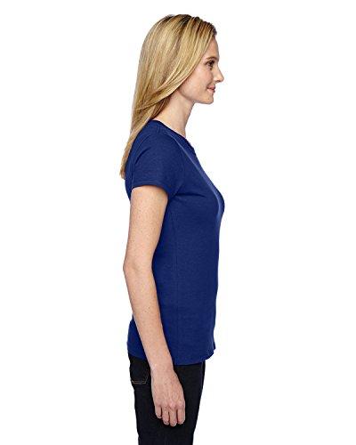Fruit of the Loom - Camiseta - para mujer Almirante Azul
