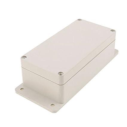 eDealMax plástico a prueba de agua caja sellada de la caja electrónica de bricolaje Junction 196
