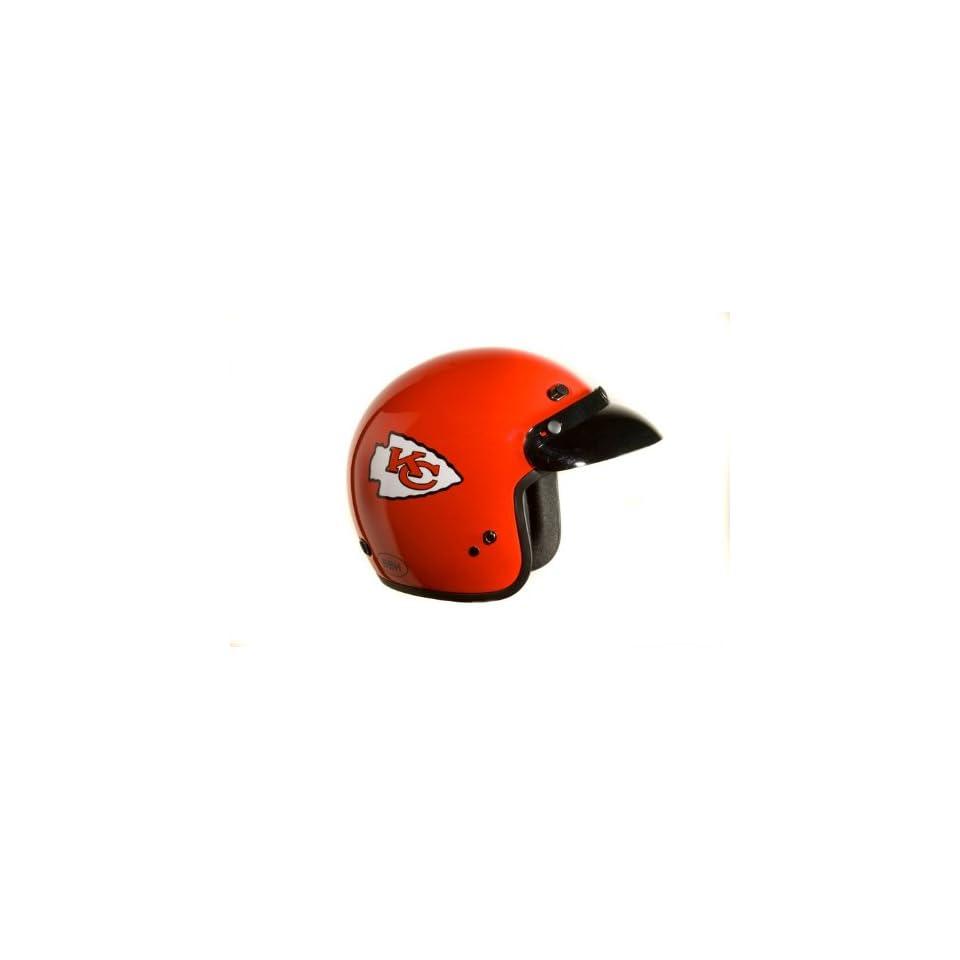 KANSAS CITY CHIEFS NFL PRO FOOTBALL 3/4 OPEN FACE