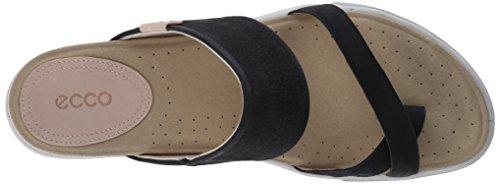 ECCO Damara Sandal - Sandalias de dedo Mujer Negro (BLACK2001)