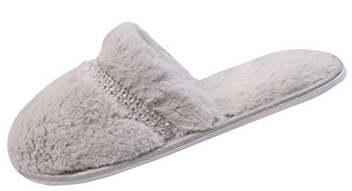 Mulo Pantofole Slumberzzz Donna Grigio Diamante qzSwBa1xn