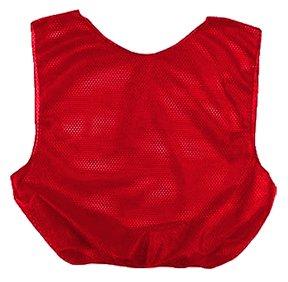 (Martin Scarlet Red Adult MSH Poly Scrimmage Vests)