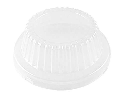 Durable Clear Plastic Dome Lid for 5-3/4