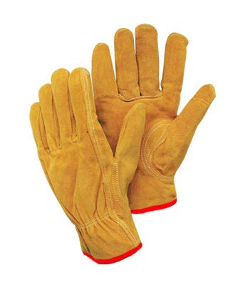 Radnor Small Natural Premium Split Cowhide Unlined Drivers Gloves (8 Pairs) by Radnor Safety (Image #1)