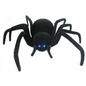 Radio Control Simulated Black Widow Spider (27MHz) 27mhz Toys Radio Controlled