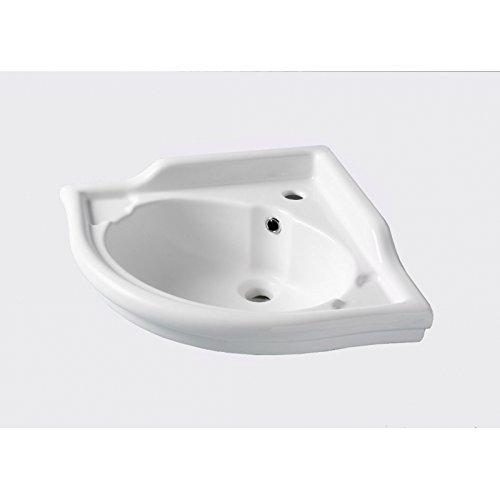 Lavabo dangle blanc r/étro