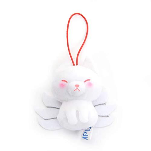 Plush Strap - Amuse Puchimaru Yokai Zukan Plush Stuffed Toy Strap Key Chain (Nine Tails)