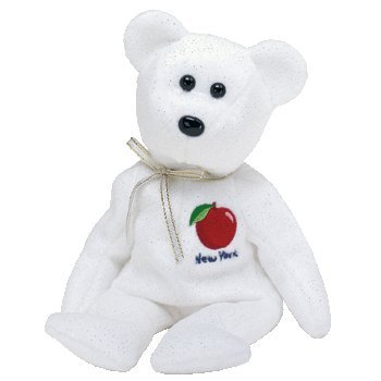 Amazon.com  TY Beanie Baby - NEW YORK STATE the Bear (State ... 1bc730d1ef8