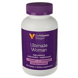 The Vitamin Shoppe Ultimate Woman Multivitamin  180 Tablets