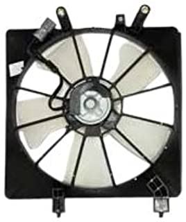 Left+Right Side MOSTPLUS Radiator /& AC Condenser Cooling Fan Assembly Replaces 38616PMMA01 for Honda Civic 1.7L l4