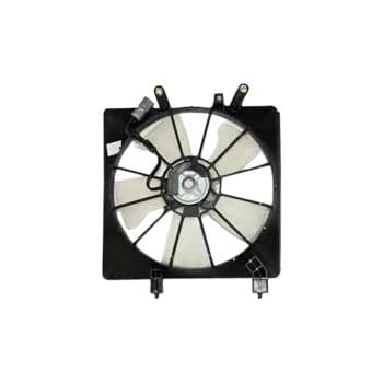 TYC 600380 Honda Civic Replacement Radiator Cooling Fan embly on