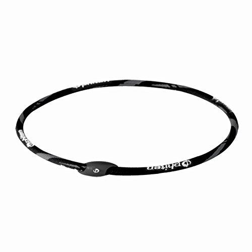 (Phiten Air Titanium Necklace, Aqua, 17-Inch )
