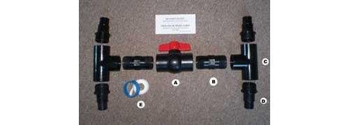 Solar Collector Kit (Sunkeeper Diverter Valve Kit)