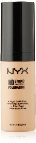 NYX Cosmetics Haute Définition Fondation photogénique, naturel, 1,26 once
