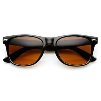 Blue Blocking Driving Amber Tint Lens Sunglasses