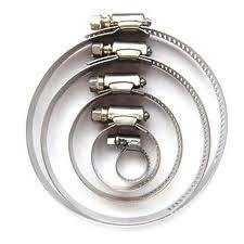 200 Of Assorted Hose Clamps Jubilee Clip 70Mm - 90Mm Ss Stainless Steel by DIRECT HARDWARE