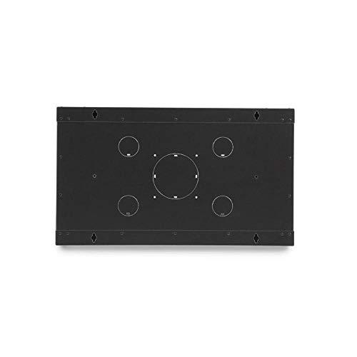 GOWOS Rackmount Fixed Wall Mount Cabinet, Solid Door, 6U