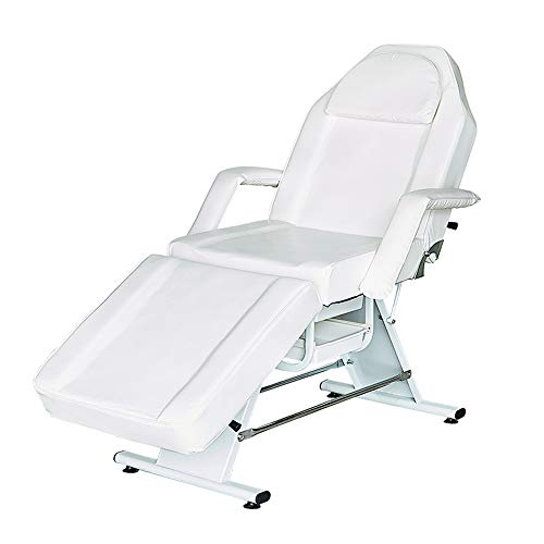 DNNAL Massage Bed Spa Bed Tattoo Chair Adjustable Facial Massage Table Salon Personal Care Equipment