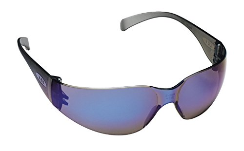 3M Tekk Virtua Safety Glasses, Blue-Frame, Blue-Lens, 2-PACK