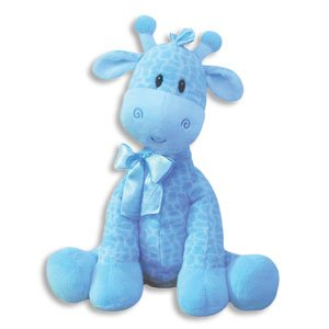9 Inch Giraffe Rattle for Boy/Baby Rattle/Plush Ratle/Baby Shower Gift/Newborn Gift