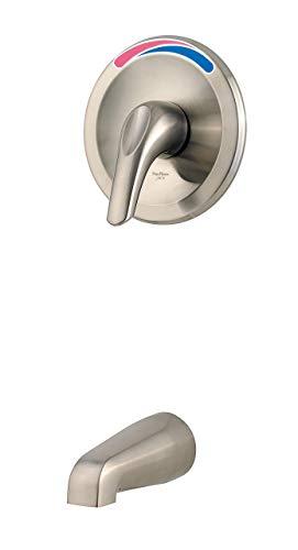 (Pfister R89-010K Pfirst Series Tub Only Trim Kit, Brushed Nickel (Renewed))