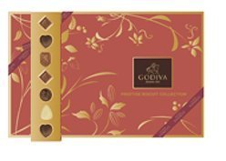 Godiva Chocolatier Assorted Chocolate Cookie Biscuit, Great...