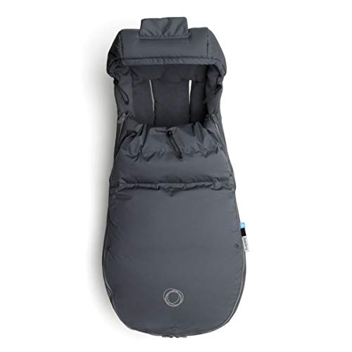 Bugaboo High Performance Footmuff - Stellar - Down-Filled Cover to Keep Your Baby Warm and Visible During Winter Days or Nights - Universally Compatible with All Bugaboo Strollers
