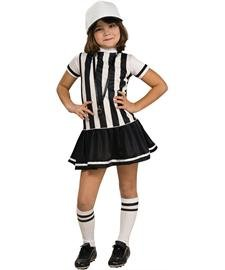 For Girls Costumes Referee (Referee Costume - Large)