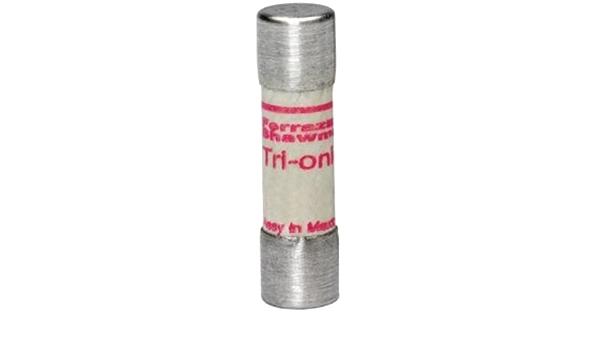 3 Three Ferraz Shawmut Tri-onic TRM10 Time Delay Fuse 10 Amp 250V Midget Fuse