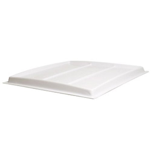 Flood Table Cover - 3 ft. x 3 ft. - ABS Plastic - White - For Use with Active Aqua 3X3 Flood Tables - UV Resistant - Active Aqua HGFT33COV