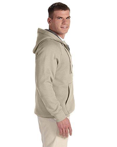 Hanes Men Nano Premium Lightweight Full Zip Hoodie_Vintage Khaki_3XL - Vintage Zip