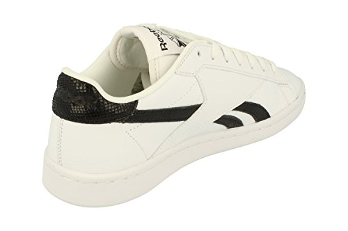 White Sneakers Reebok Trainers Black Womens Aq9823 UK Classic Eb NPC RYWnRvf0