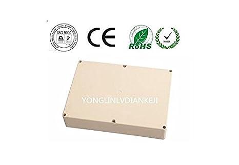 Caja de plástico ABS 265 x 185 x 76/ caja de plástico impermeable ...