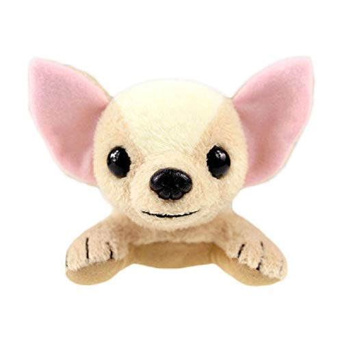 PAPPET Chihuahua Stuffed Animal Soft Chihuahua Dog Plush Toys Mini Animal Puppy Pet Dolls for Children Kid's Birthday Christmas Valentines Gifts