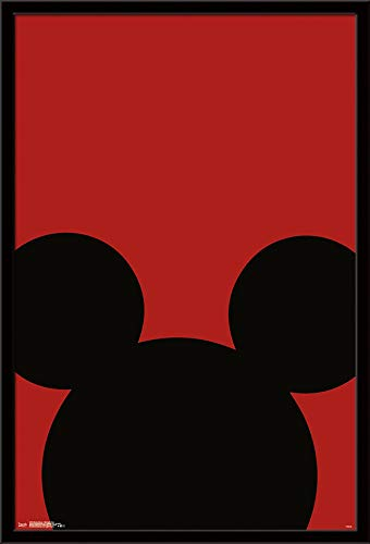 Trends International Mickey Mouse - Minimalist Ears Wall Poster 24.25