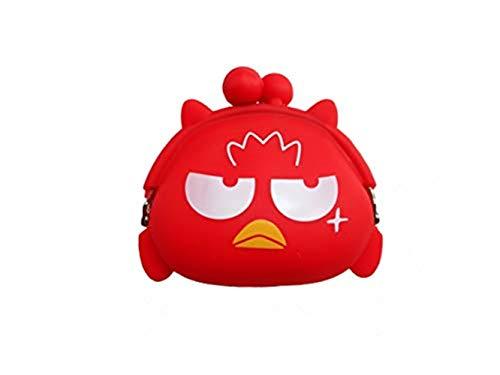 - 4 Packs Silicone Coin Purse Wallet for Kids Girls Boys Women Cute Mini Cartoon Animal Owl Bird Penguin Duck Purse for Kids