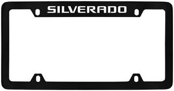 fit Silverado anything 2pcs fit Silverado tag License Frame License Plate Frame