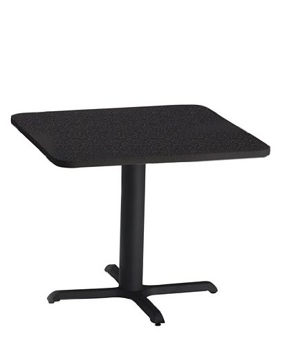 (Mayline Bistro CA36SLB 36 inch Square Lunch Room Table)