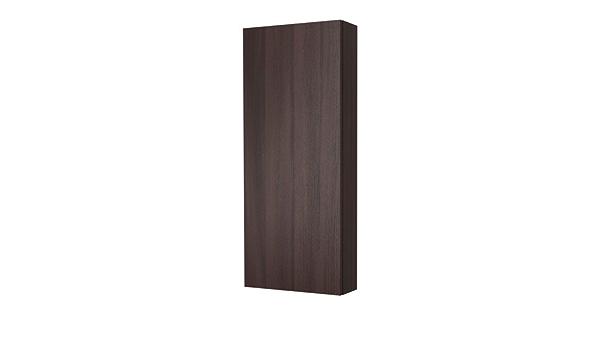 IKEA GODMORGON - mueble de pared con 1 puerta, negro-marrón ...