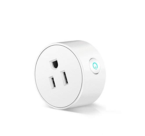Smart Plug Wifi Wireless Home Electrical Timing Outlet Remote Control your Devices from Anywhere Works with Alexa and Google Assistant IFTTT (1 (Wireless Remote Wall Thermostat)