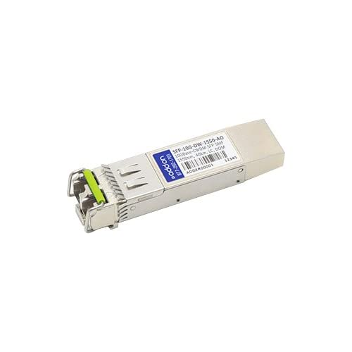 Image of Addon-Networking LC Single Mode SFP+ Transceiver Module (SFP-10G-DW-1550-AO) Network Transceivers