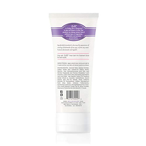Belli Stretchmark Minimizing Cream – For Existing Stretch Marks of Any Age or from Any Cause – Features Darutoside, Regestril, and Avocado Oil – OB/GYN and Dermatologist Recommended – 6.5 oz by Belli (Image #1)
