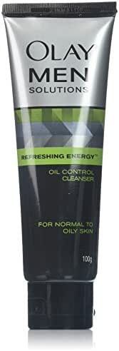 Facial Cleanser: Olay Men Oil Control Cleanser