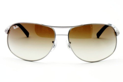 b41d70f9846 Image Unavailable. Image not available for. Colour  New Ray Ban RB3387 004 13  Gunmetal Brown Gradient Lens 67mm Sunglasses