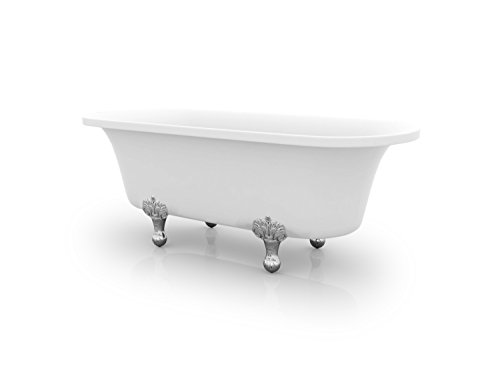 Ancona Harlow Freestanding Clawfoot Bathtub (Acrylic Clawfoot Tub compare prices)