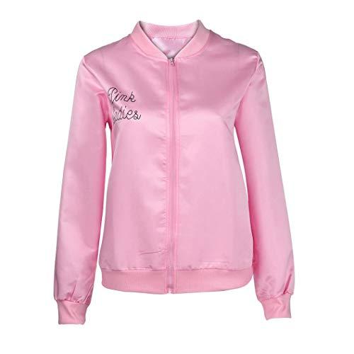 Women's Lightweight Rain Jacket Halloween Waterproof Raincoat Outdoor Windbreaker (L)