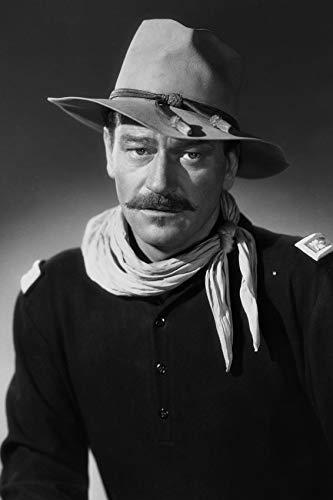 John Wayne in Rio Grande Striking Studio Pose in Cavalry Uniform 24x18 Poster